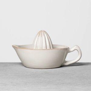 Hearth & Hand Kitchen - Hearth & Hand Stoneware Citrus juicer Cream